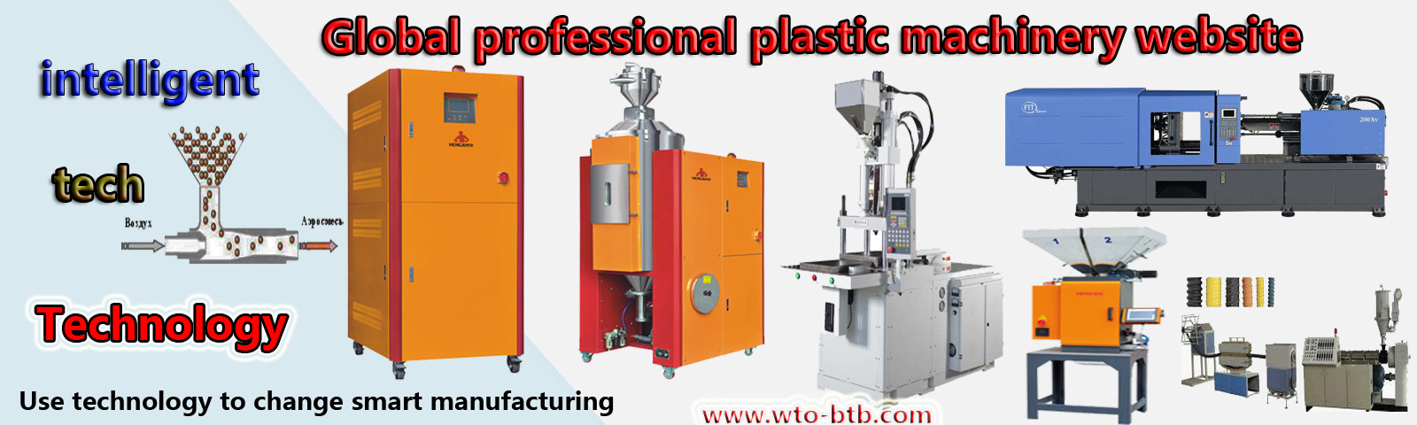 Plastic machinery equipment